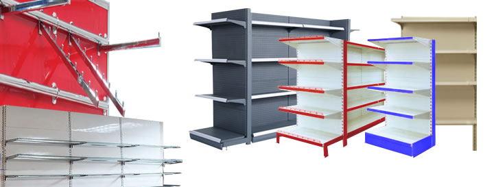 بنر قفسه سوپری قفسه لیبل دار قفسه هایپری قفسه حفاظدار قفسه رگال - راهنمای خرید قفسه فلزی