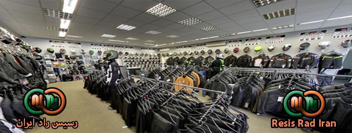 رگال کشویی رگال سالنی رگال فروشگاه2 - قفسه بندی پوشاک (انواع رگال)