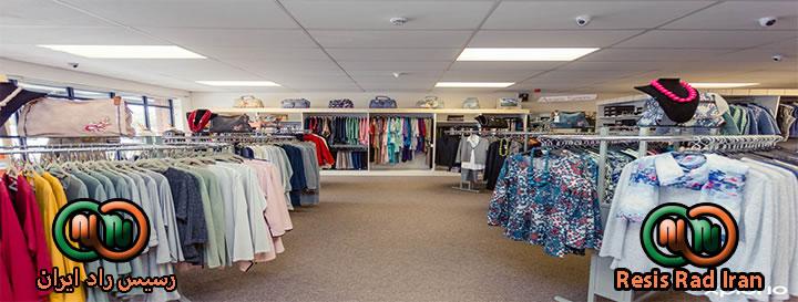 رگال کشویی رگال سالنی رگال فروشگاه3 - قفسه بندی پوشاک (انواع رگال)