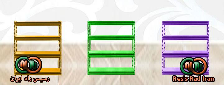فروش خرید قفسه پیچ مهره ای طوسی رنگی نبشی صفحه قفسه انبار انباری قفسه خارجی33 فاق بلند - قفسه بندی سبک انبار (پیچ و مهره ای)