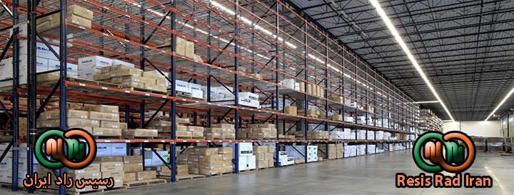فروش قفسه تولید قفسه خرید قفسه قفسه سنگین  قفسه بندی راک قفسه بندی انبار 041 - راک