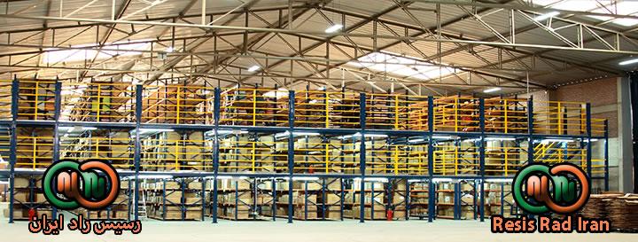 فروش قفسه تولید قفسه خرید قفسه قفسه سنگین  قفسه بندی راک قفسه بندی انبار 103 - راک
