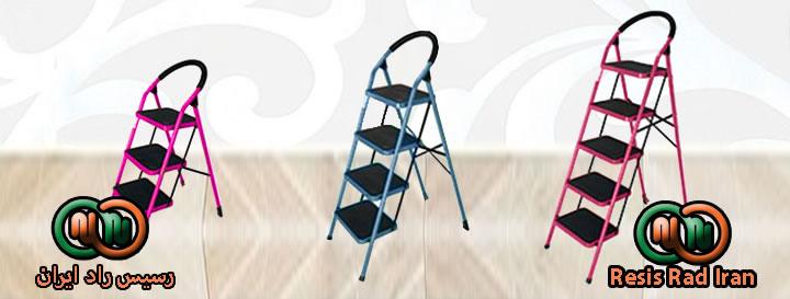 فروش نردبان خانگی خرید نردبان خانگی نردبان پله پهن نردبان تاشو نردبان سبک نردبان 3محکم - نردبان خانگی و صنعتی