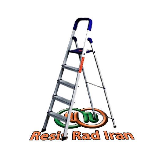 نردبان آلومینیومی 5پله نردبان سبک نردبان تاشو نردبان خانگی آلومینیومی - نردبان خانگی آلومینیومی