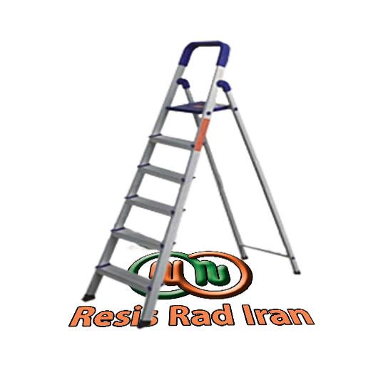 نردبان آلومینیومی 6پله نردبان سبک نردبان تاشو نردبان خانگی آلومینیومی - نردبان خانگی آلومینیومی