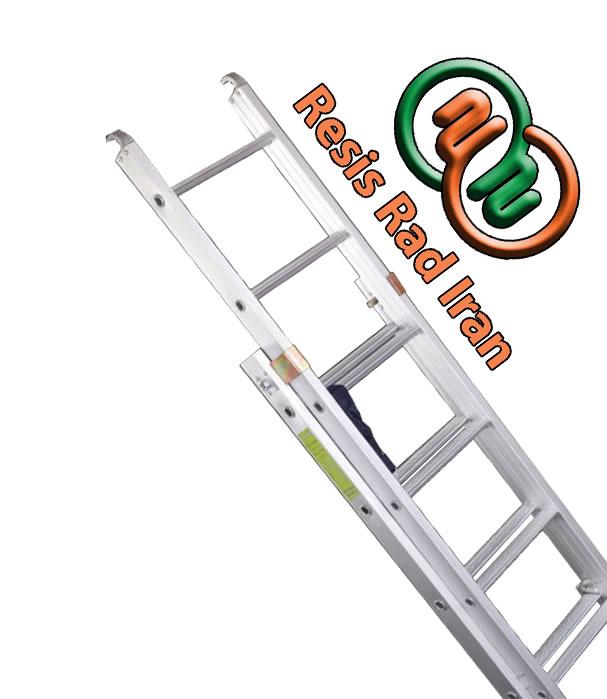 نردبان مخابراتی نردبان کشویی خرید نردبان نردبانرصنعتی نردبان آلومینیومی - نردبان صنعتی کشویی (مخابراتی)