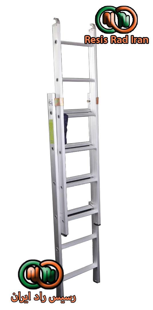 نردبان مخابراتی 12پله - نردبان صنعتی کشویی (مخابراتی)