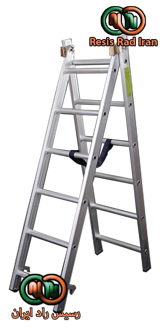 نردبان مخابراتی 12پله8 - نردبان صنعتی کشویی (مخابراتی)