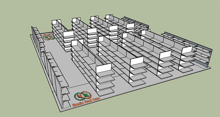 foroshgah3 - قفسه بندی فروشگاهی