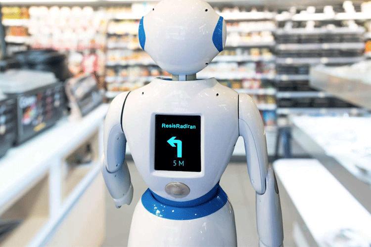 robat - قفسه فناوری فروشگاه